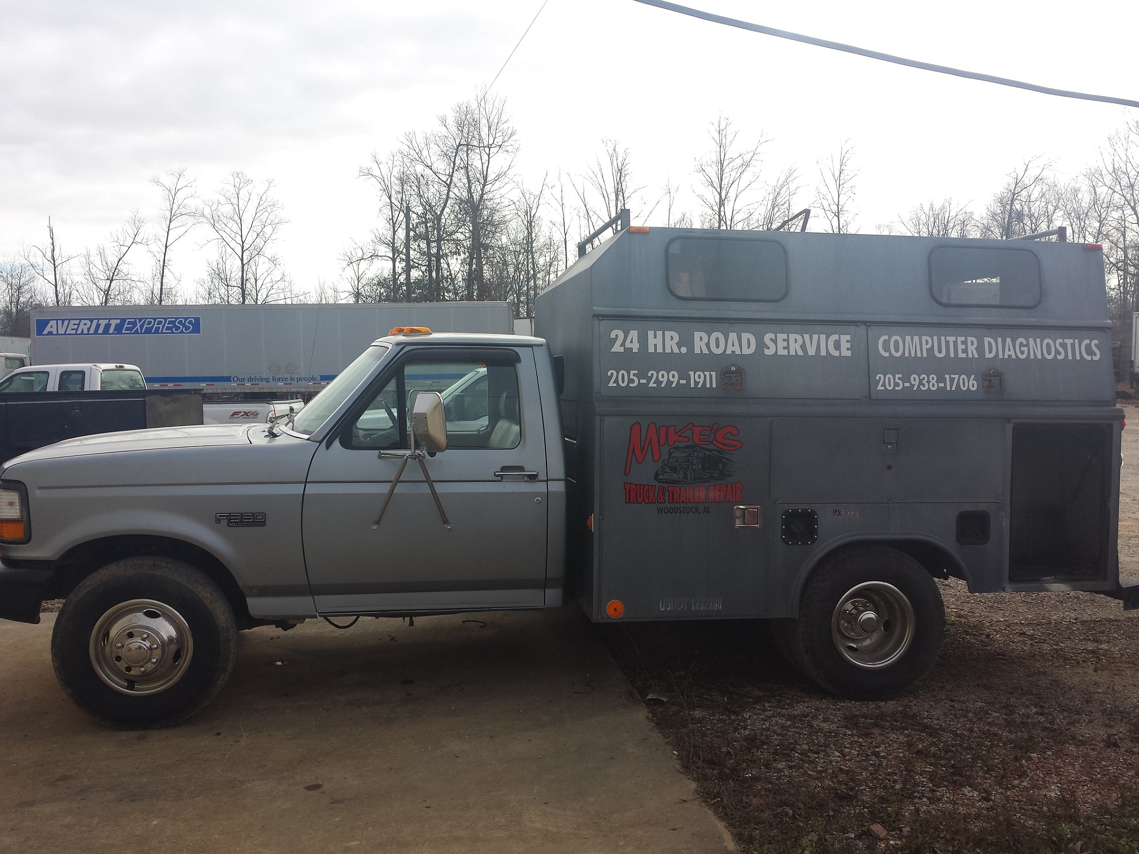 Gray Service Truck 2
